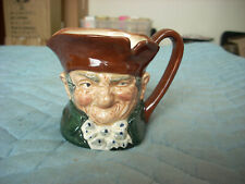 """Toby Jugs By Royal Doulton England """"Old Charley"""" #D.5527 At 3 1/2"""" Tall (00)"""