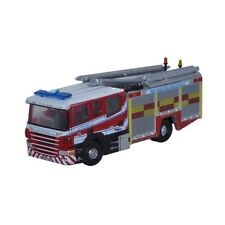 N scale Fire Truck - Oxford Diecast- Red