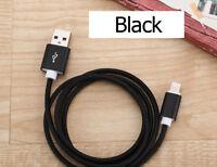iPhone X 8 7 6s 6 Plus 1M/2M/3M para cargar datos USB Cuerda Cable cargador