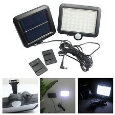 56 LED Solar Power Motion Sensor Waterproof Outdoor Garden Security Wall Lamp