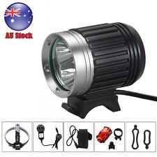 9000 Lumen 3x CREE XM-L T6 LED Bicycle Bike Head Light HeadLight HeadLamp Torch