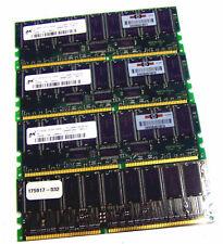 HP 175917-032 256MB DDR PC1600 CL2 ECC Memory | Micron MT18VDDT3272G-202B1