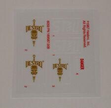 GI Joe Cobra Destro's Despoiler Sticker Decal Sheet