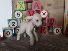 Rare ancien agneau mouton Steiff Lamby 10 cm années 60