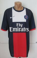 PSG PARIS SAINT-GERMAIN 2013/2014 HOME SHIRT SOCCER JERSEY MAILLOT NIKE 2XL XXL