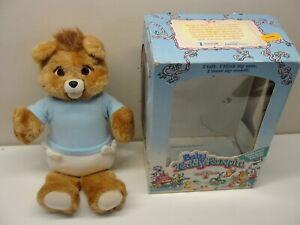 1987 BABY TEDDY RUXPIN WORLD OF WONDERS W/ BOX