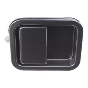 Outside Door Handle for Jeep Wrangler CJ5 CJ7 Drivers Exterior Black 55176382AB
