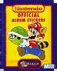 SUPER MARIO bros. Nintendo Oficial Álbum de pegatinas 1 árbol NUEVO Y EMB. orig.