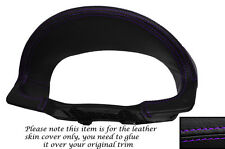 PURPLE STITCH SPEEDO SURROUND LEATHER SKIN COVER FITS HYUNDAI TIBURON 2003-2006
