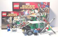 Lego Marvel Doc Ock Truck Heist Spider-Man Set 76015 Complete/Instructions/Box.