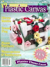 Quick & Easy Plastic Canvas Magazine No. 54 June/July 1998 ~ 19 projects