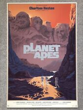 The Planet Of The Apes Screen Print By Laurent Durieux - Sold Out - Mondo Poster