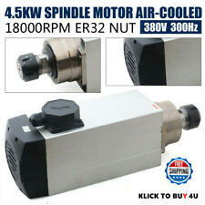 Er32 Air Cooling Spindle Motor 18000rpm Cnc Router Milling Spindle Motor 45kw