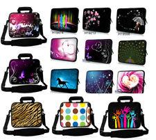 """10""""-17"""" Soft Laptop Shoulder Bag Neoprene Computer Sleeve Case For Macbook Dell"""