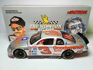 1995 Dale Earnhardt Sr #3 GM Goodwrench Silver Select CWB 1:24 NASCAR Action MIB