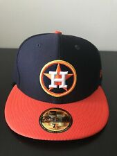 Houston Astros New Era 59FIFTY Fitted Hat Size 7 1/2 NEW