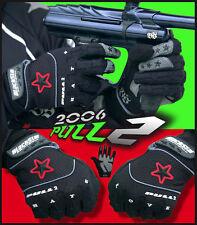 """Rare Brand New 2006 BlackStar """"Pull 2"""" Paintball Gloves - Black - Large"""