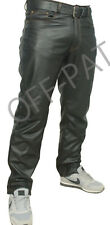 Real Leather Jeans Heavy Duty LEVI 501 STYLING  MOST SIZES AVAILABLE