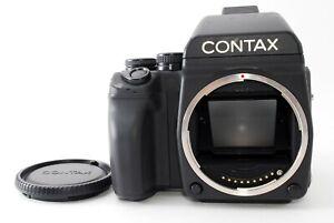 Contax 645 Medium Format Film Camera Body AE Finder W/Film Holder Tested