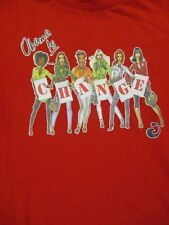 L red OBAMA IS CHANGE GIRL POWER t-shirt by HOUSE OF DER EON