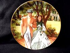 """GONE WITH THE WIND COLLECTORS PLATE """" HOME TO TARA"""""""