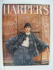 HARPER` INTERNATIONAL COLLECTIONS S BAZAAR SEPTEMBER 1964 DIOR,YSL,PATOU,COURREG