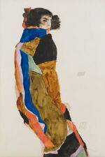 Egon Schiele Moa Giclee Canvas Print Paintings Poster Reproduction