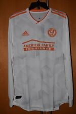 "Adidas Atlanta United FC ""King Peach"" Authentic Long-Sleeve Jersey US Large"