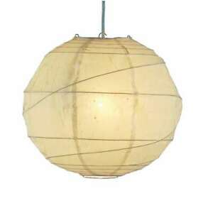 Adesso Orb Large Pendant, Natural - 4162-12