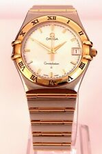 & Steel 1212.30.00 1212300 - 35mm Omega Constellation Quartz Ladies 18K Gold