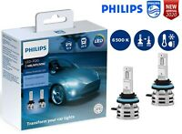 PHILIPS H8/H11/H16 LED Ultinon Essential Car Headlight Bulbs 6500K 11366UE2X2