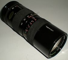 CAMERA PHOTOGRAPHY LENS TAMRON AUTO ZOOM F=85-210MM MACRO 1:4.5 CANON MOUNT