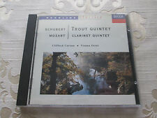 SCHUBERT TROUT QUINTET - MOZART CLARINET QUINTET - CLIFFORD CURZON - 1991 DECCA
