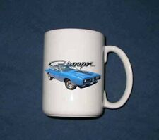New 15 Oz. 1971 Dodge Charger mug
