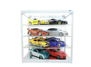 4-Layer Mirror Backed Display case 1:24th LEDs & USB TRIPLE 9 247840MBK MS or MW