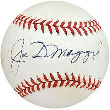 Joe DiMaggio Autographed Signed AL Baseball New York Yankees Beckett A53818