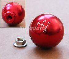 JDM Red aluminum ball style 5 speed Shift KNOB for 1996-2000 Honda Civic EK 5SP