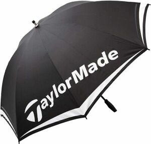 "TaylorMade Single Canopy 60"" Golf Umbrella - Manual Open - 100% Nylon Windproof"