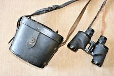 Authentic 1943 WWII US NAVY BINOCULARS IN CASE BU SHIPS MARK 33
