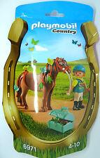 S21) PLAYMOBIL ®  Schmück Pony Schmetterling (6971) Country Serie Pferd Pferde