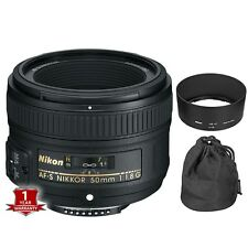 Nikon AF-S Nikkor 50mm f/1.8G Lens for DSLR Camera Body Memorial Day Sale