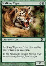 4x MTG: Stalking Tiger - Green Common - 10th Edition - 10E - Magic Card