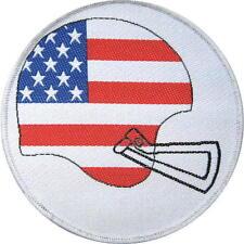 "AMERICAN FOOTBALL AUFNÄHER / PATCH # 1 ""USA HELMET"" - 9cm"