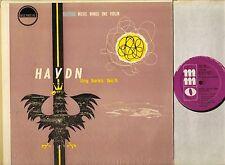 MMO 501 THE CLASSIC STRING QUARTET haydn string quartets no 1 and 2 LP PS EX/EX