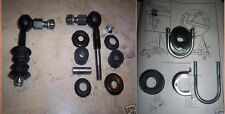 TRIUMPH TR4A TR250 TR5 TR6 Anti Roll Bar links / arbusti / MORSETTI KIT MONTAGGIO