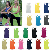 AWDis Just Cool Girlie Cool Vest - Women training/sports/gym/running tank |8-16