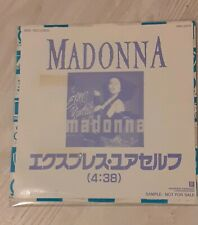 "Madonna Very Rare Japan Promo 7"" Vinyl Single Express Yourself"