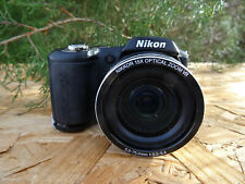 Nikon COOLPIX L100 10.0MP Digital Camera - Black FOR PARTS REPAIR AS IS