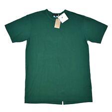 NWT $280 Comme Des Garcons Homme Plus Men's Green SPlit Back T-Shirt S AUTHENTIC