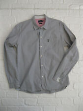 PAUL SMITH JEANS * Men's Micro Weave Pattern Tailored Fit LS Shirt * LARGE L *